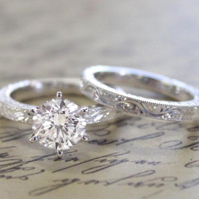 Writing her vows. #BrilliantEarth #EngagementRing