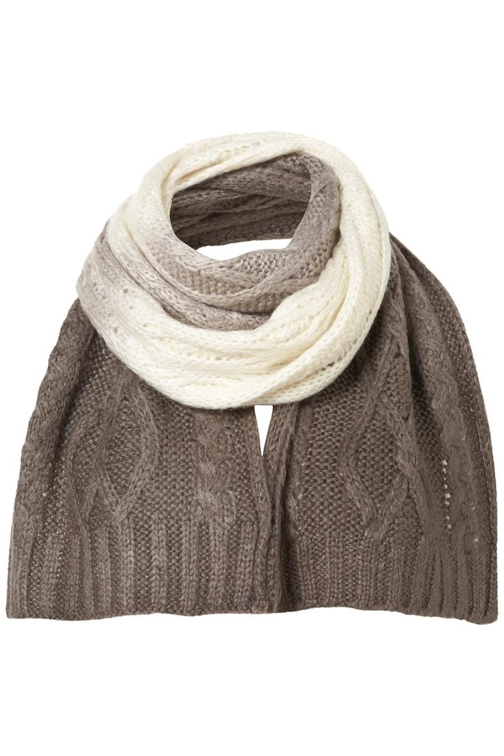 Wintery scarf!