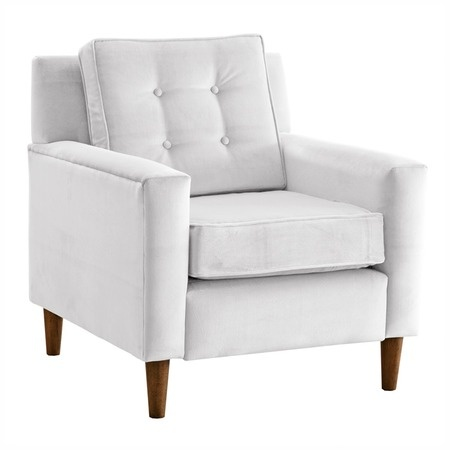Calvin Arm ChairDecor, Velvet Armchairs, Calvin Arm, Arm Chairs, Living Room, Zebras Bedrooms, Winston Velvet, Design, White Furniture