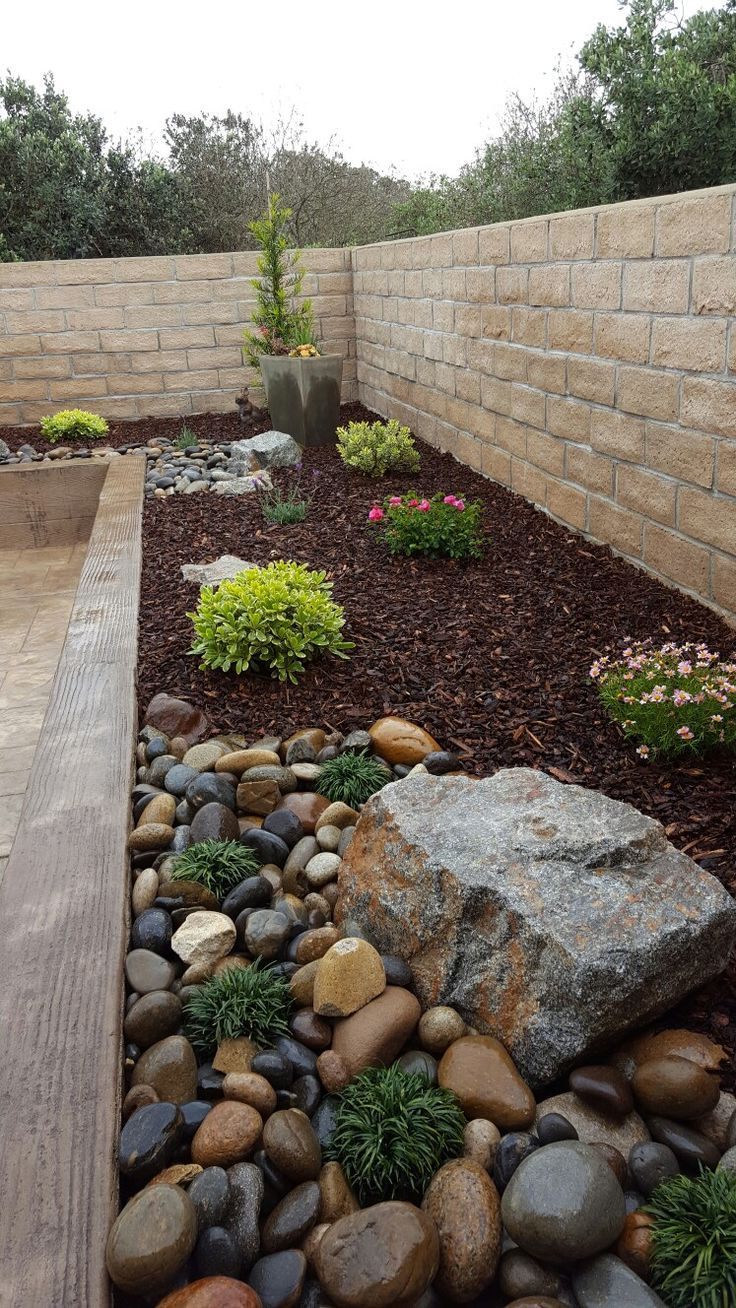 Felsen In Blumenbeeten Gartenideens In 2021 Rock Garden Landscaping Garden Landscaping Backyard Landscaping With Rocks Backyard landscaping ideas with stones