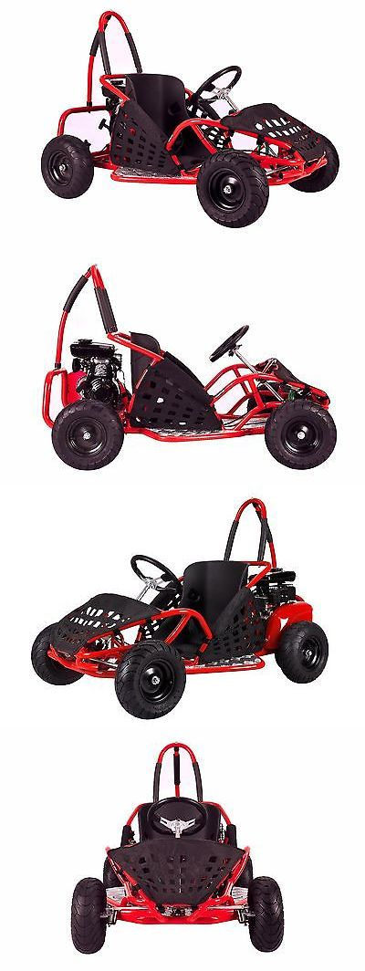 Other Go-Karts Recreational 40152: Kids 79Cc Off Road Gas Go Kart For - Red Or Black - 2.5 Hp 4 Stroke Engine -> BUY IT NOW ONLY: $789.95 on eBay!