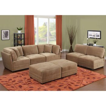 1000 images about homie on pinterest bookcases for Canby 6 piece modular sectional sofa