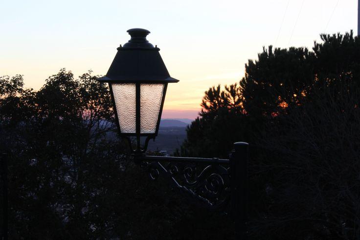 historic lamp