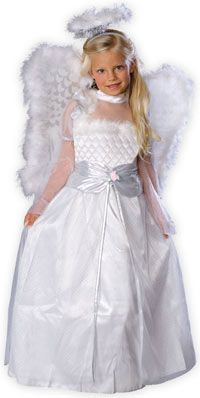 Rosebud Angel Costume - Christmas Costumes - AngelCostumes.org - Kids Angel Costume Outfit