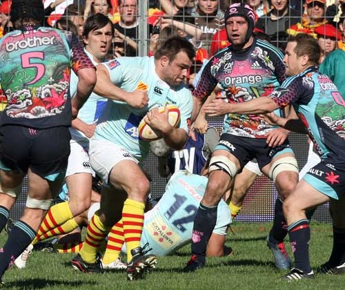 Nicolas Mas goes on the charge for Perpignan