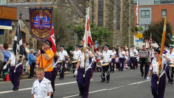 12th of july - commemorating the battle of the boyne