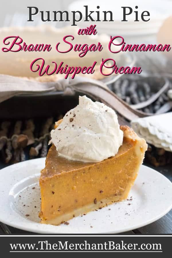 Pumpkin Pie With Brown Sugar Cinnamon Whipped Cream Recipe Fall Recipes Pumpkin Pumpkin Pie Dessert Recipes