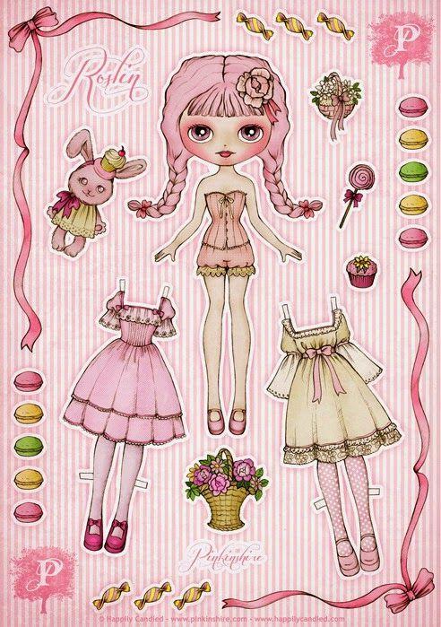 Imprimolandia: Muñecas de papel Paper dolls