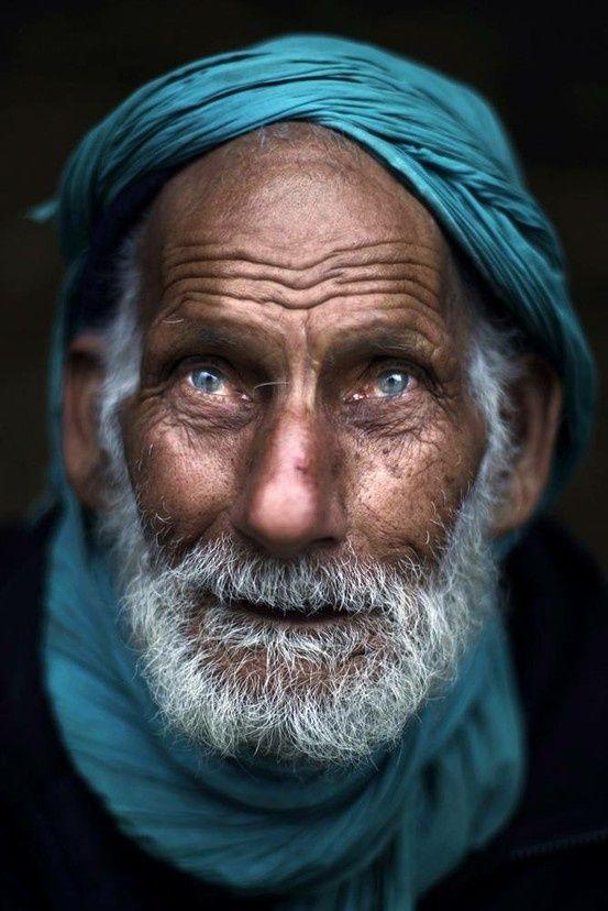 Wise blue eyes Pakistan