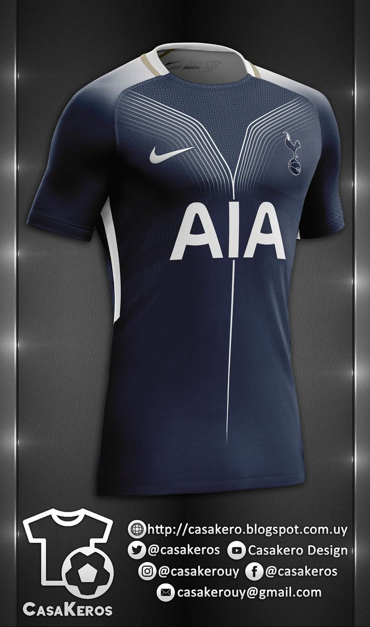 TOTTENHAM HOTSPU FANTASY KIT :: TEMPLATE DOWNLOAD on Behance