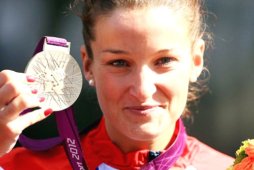 Team GB Medals 2012  01. Lizzie Armitstead - SILVER  (Cycling, Road: Women's Road Race)