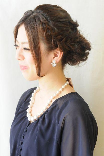 結婚式☆二次会☆人気編み込みクラシカル♪ | 元町・石川町の美容室 hair coucouのヘアスタイル | Rasysa(らしさ)