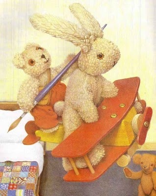 Old Bear stories by Jane Hissey   These stories were favorites of my girls.