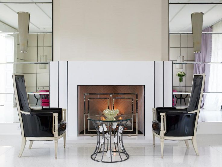 Was Ist Art Deco?, Salon Zimmer, Art Deco Interieur, Art Deco Design,  Zeitgenössische Wohnzimmer, Familienzimmer, Hollywood Regentschaft, Kamin  Einsätze, ...