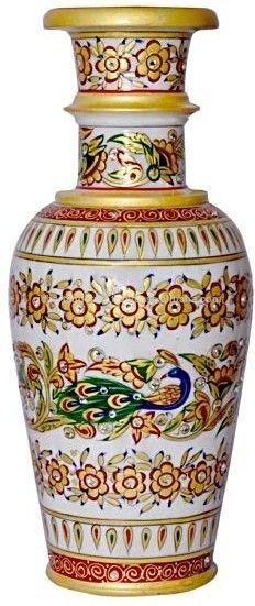 marmo naturale pietra vaso vaso decorazioni per la casa regalo di natale regalo fatto a mano ricco arte e artigianato-immagine-Vaso di fiori contenitore-Id prodotto:50023284202-italian.alibaba.com