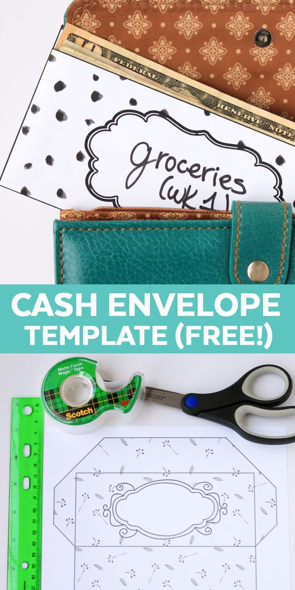 Dave Ramsey Envelope System Printable Free Template This Free
