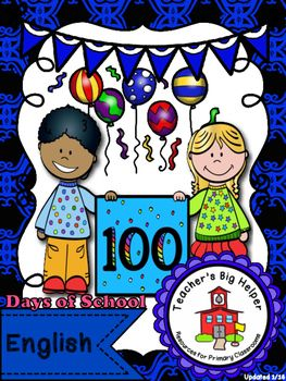 100 Days of School  Click below for a video preview:  https://youtu.be/P77jvQg_btI