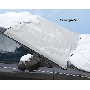 Windshield Snow Cover - Solutions for Home, Yard, Garden & Auto