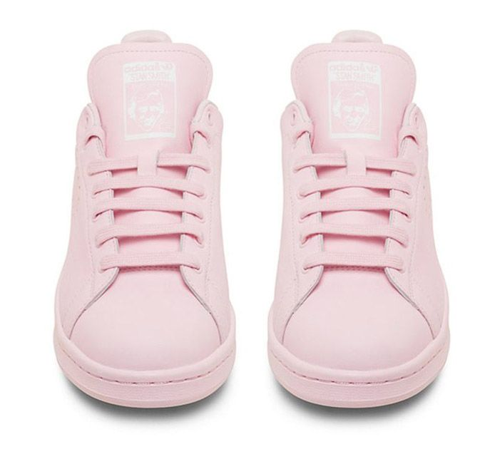 Adidas Shoes Pink Stripes