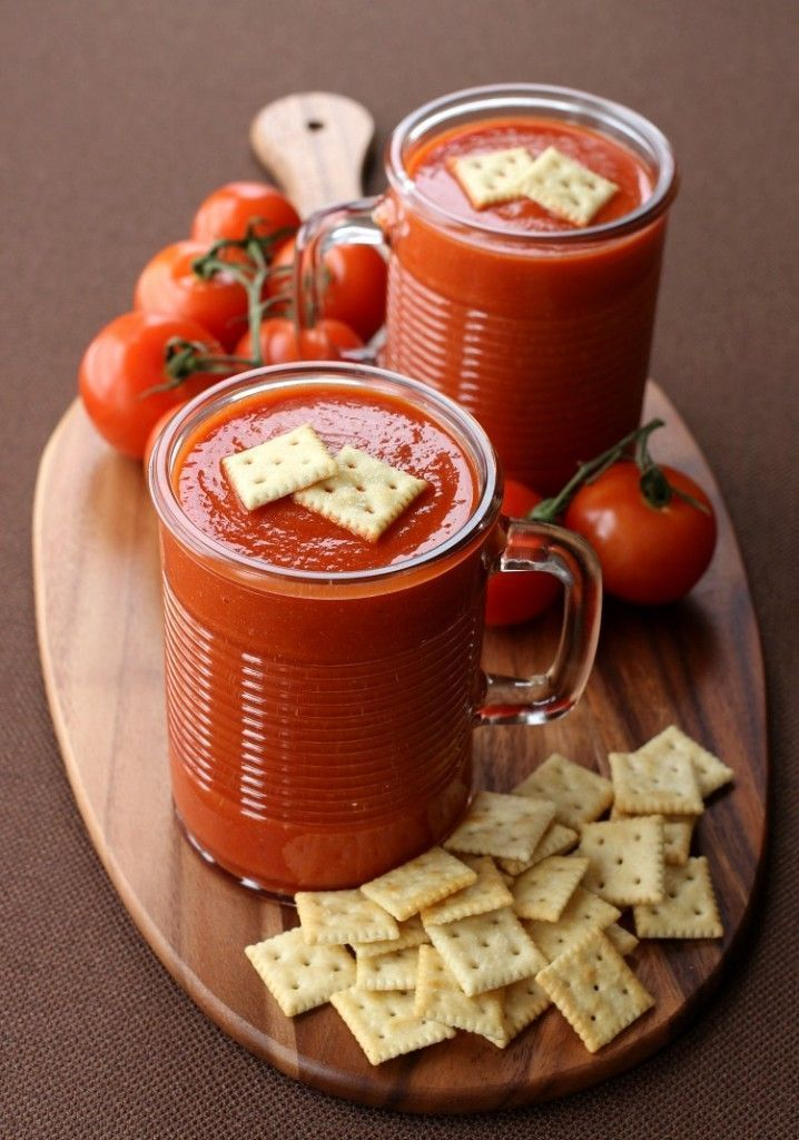 This Copycat Campbell's Tomato Soup is SO much better than opening a can and almost as easy!