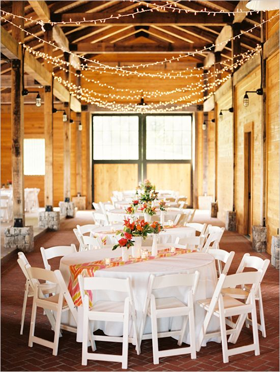 wedding lighting...this is what I am doing for my lighting over the eating section :)