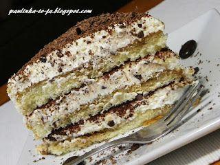 Smak mojej kuchni...: Tort tiramisu