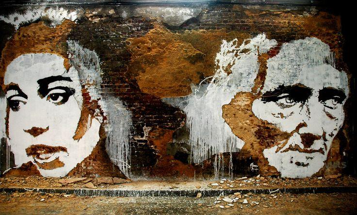 """Galería - Arte y Arquitectura: """"Scratching the Surface"""" por Vhils - 01"""