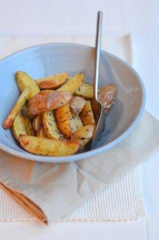Aardappeltjes uit de oven met Rozemarijn || oven || aardappelen, rozemarijn, knoflook, zout, olijfolie