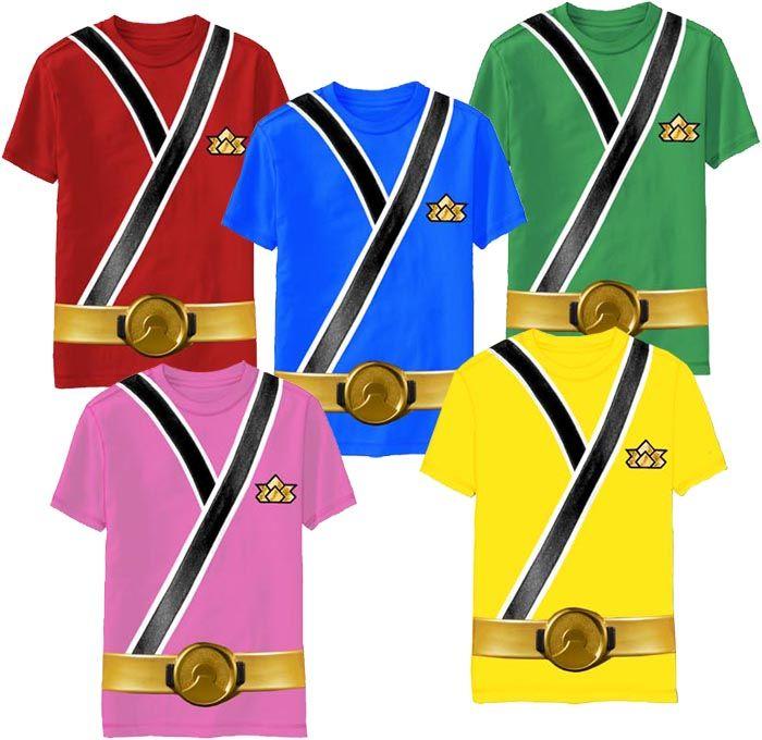 Power Rangers Samurai Ranger Uniform Monster Toddler T Shirt 1795