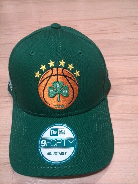 "Gorra Euroliga New Era ""Panathinaikos"" 9FORTY http://www.basketspirit.com/epages/268403.sf/es_ES/?ObjectID=4853198&ViewAction=FacetedSearchProducts&SearchString=new+era"