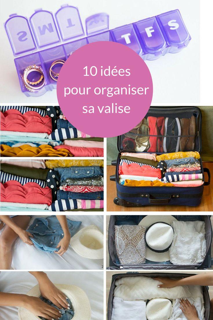 Découvrez nos 10 astuces pour faire tenir tous vos vêtements dans une seule valise !