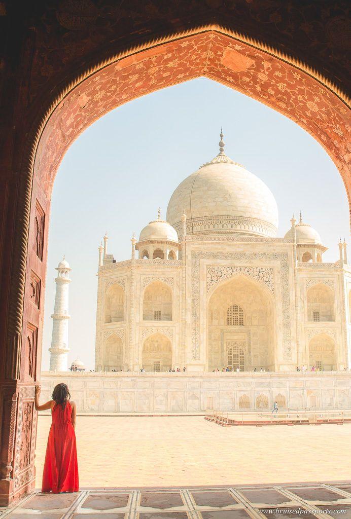 Beautiful photographs of The Taj Mahal