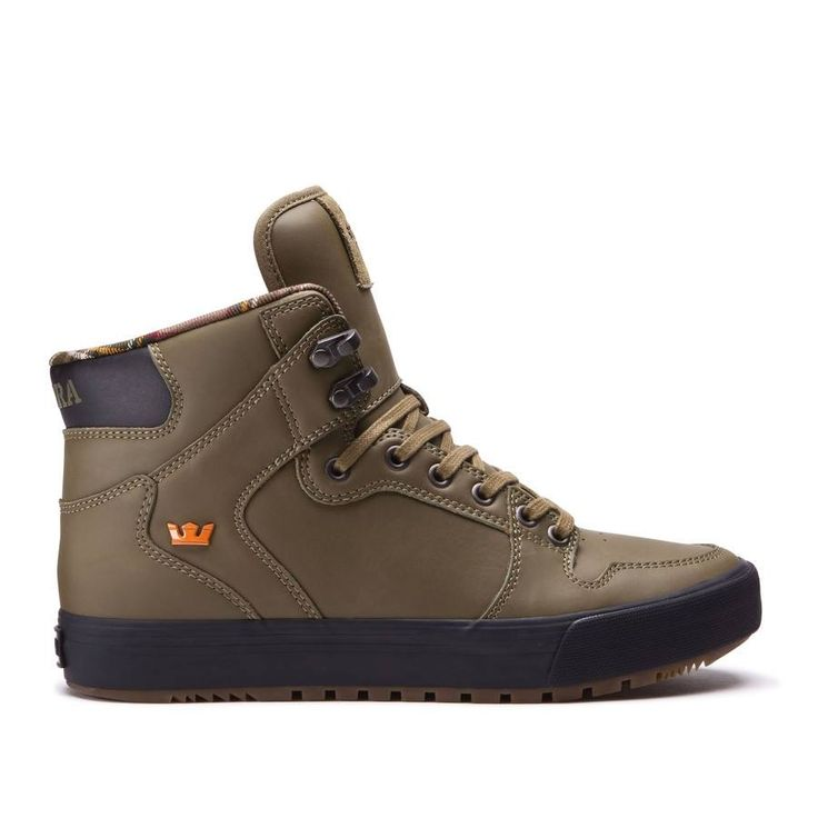 New in >> Vaider CW Olive from Supra Footwear. Available now in store and online
