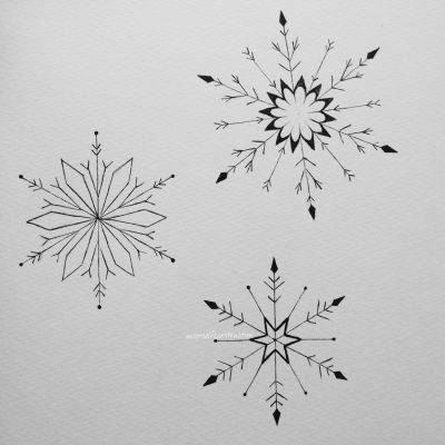 snowflake tattoo | Tumblr More