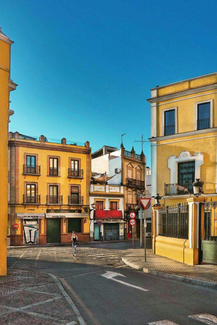 Quarter San Gil in La Macarena District. Seville, Spain
