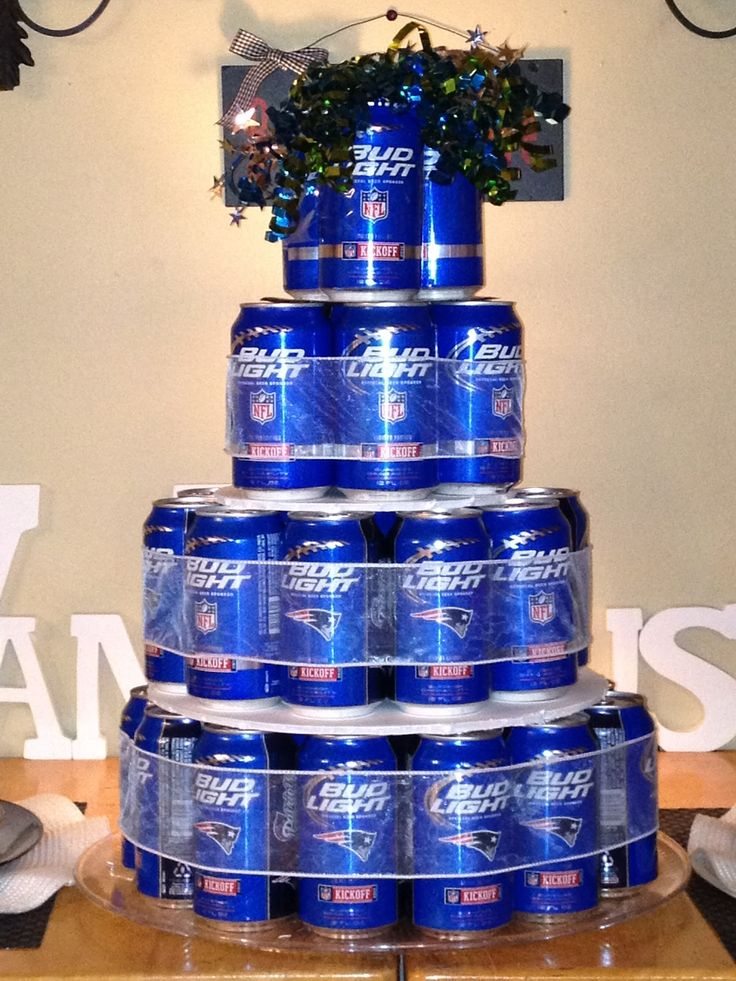 how to make a beer can cake | The only thing I would do next time is.... USE MORE TAPE! I mistakenly ...