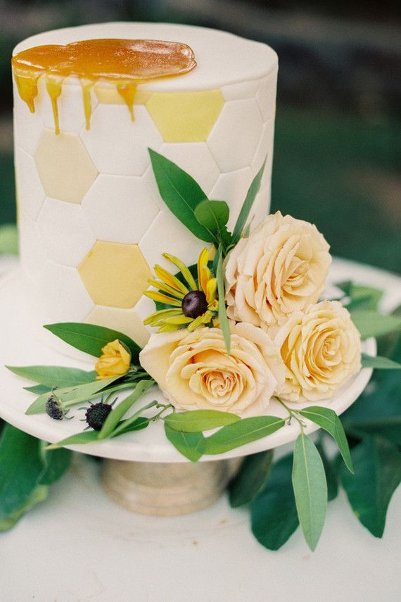 Summer wedding cake | Wedding & Party Ideas | 100 Layer Cake