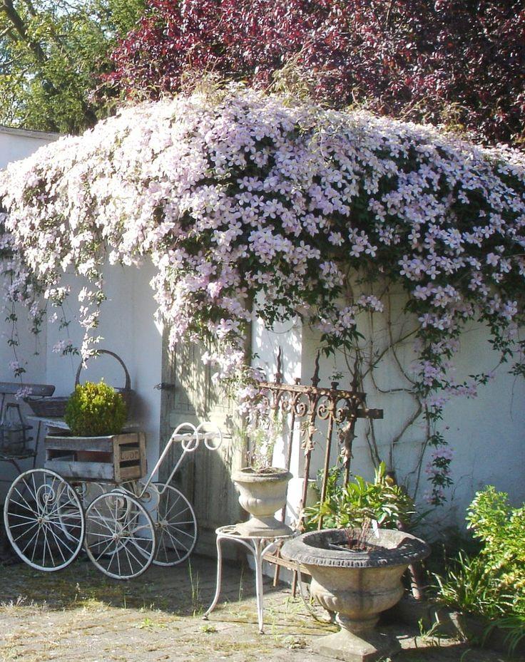 In the garden - brocante-charmante