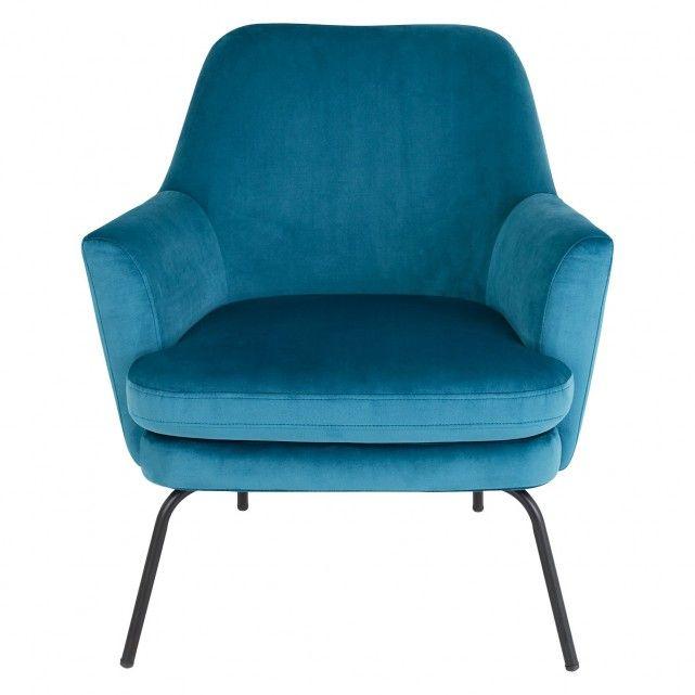 Celine Teal Velvet Armchair Blue Armchair Teal Armchair Velvet Accent Chair