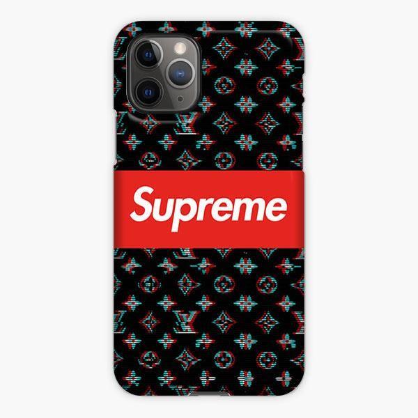 Supreme X Louis Vuitton Black Pattern Iphone 11 Pro Max Case Pattern Iphone Iphone Phone Cases Iphone 11