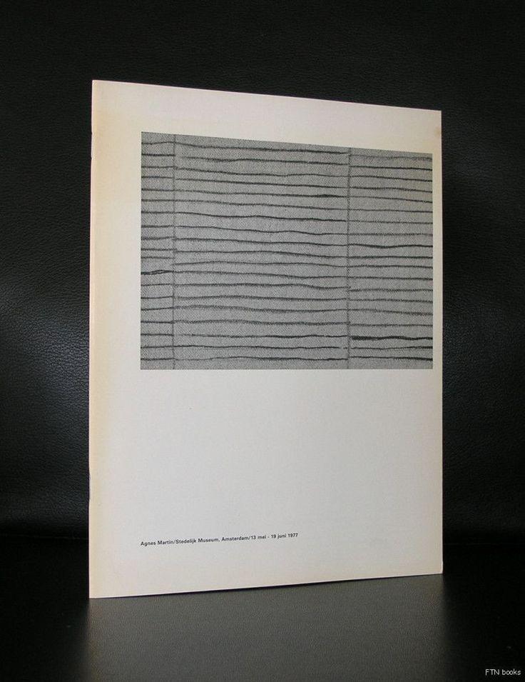 Stedelijk Museum # AGNES MARTIN  # Wim Crouwel,  1977, mint-