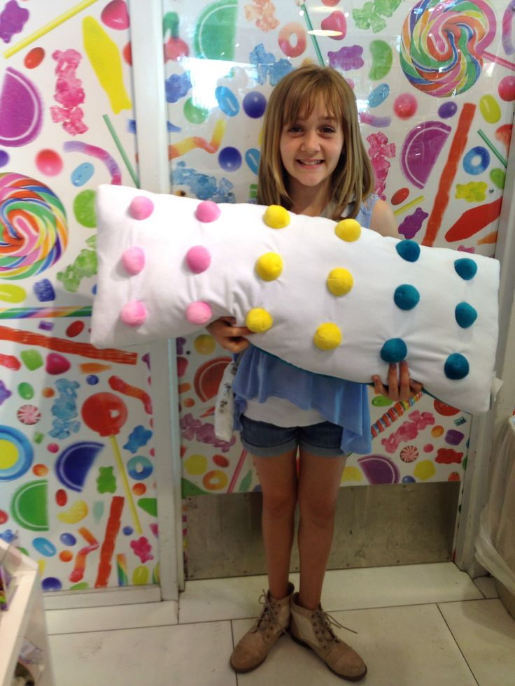 Dots candy pillow for bedroom