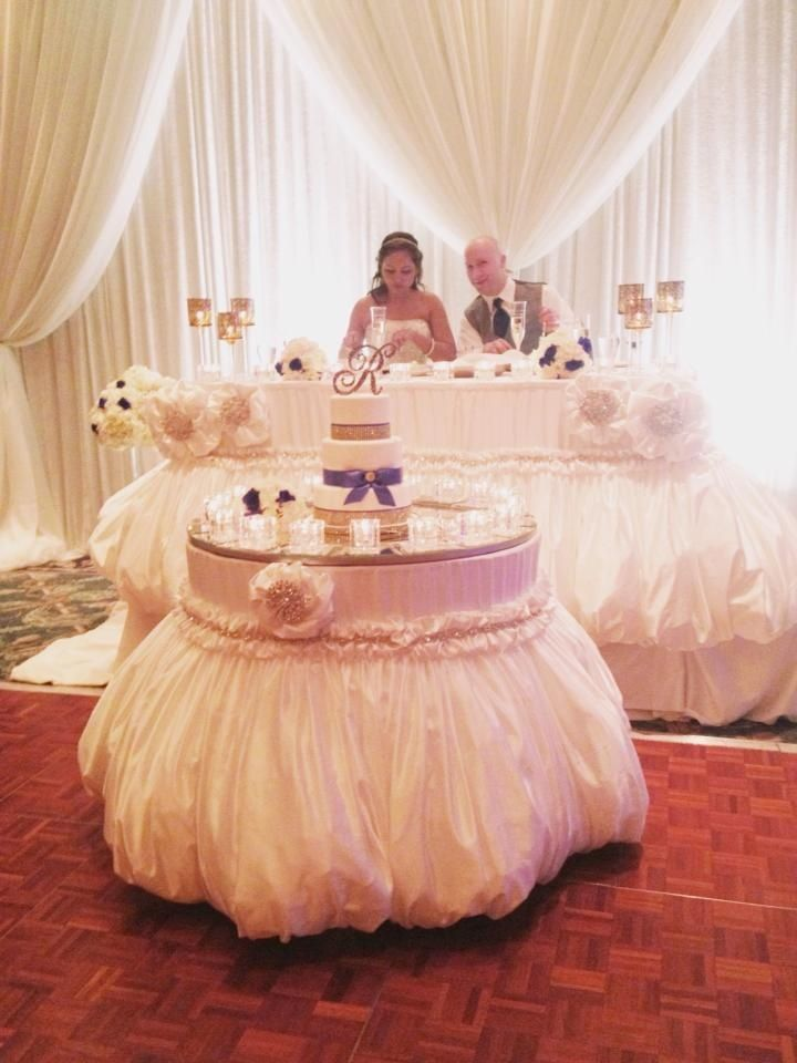 853 best images about sweetheart tables on pinterest wedding cake tables tablecloths and. Black Bedroom Furniture Sets. Home Design Ideas