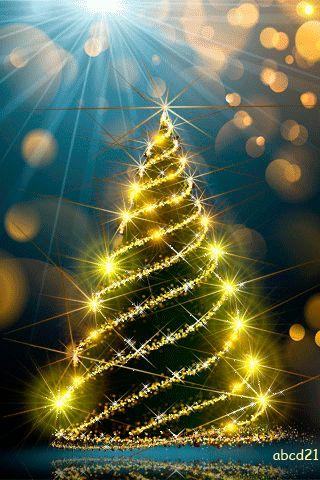 Нарядная елка картинки анимированные на новый год