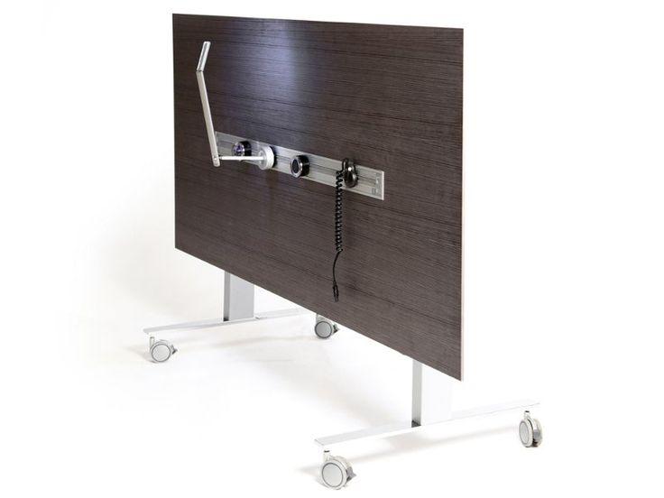 Tavolo pieghevole rettangolare con ruote IN-LECT by Inno Interior Oy design Jouni Leino