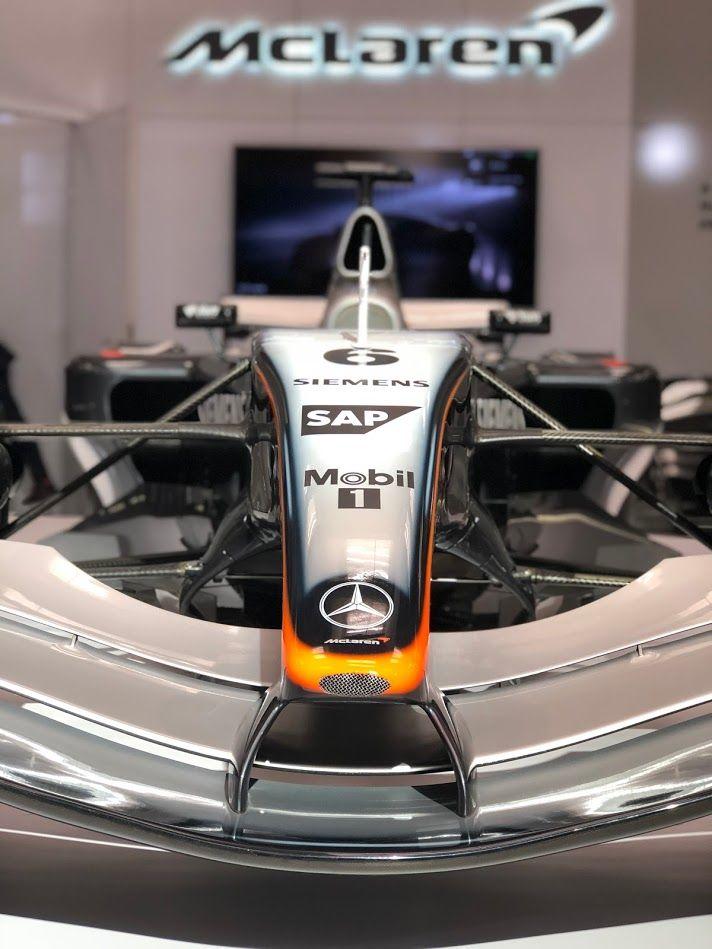 Kimi Raikkonen's #McLaren MP4/19 at the Canadian International Auto Show, Toronto Feb 2019  #F1 #CIAS2018 #TheNewMovement