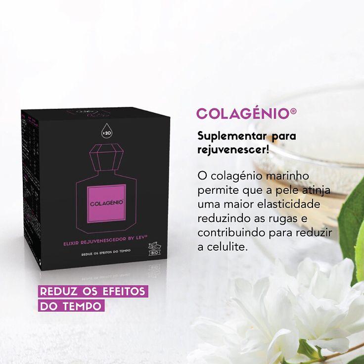 Conheça os Elixires Bio by Lev: Colagénio! São confecionados a partir de extratos naturais de plantas de origem biológica!