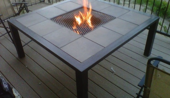 Wow amazing outdoor fire pit table can be used for for Amazing outdoor fire pits