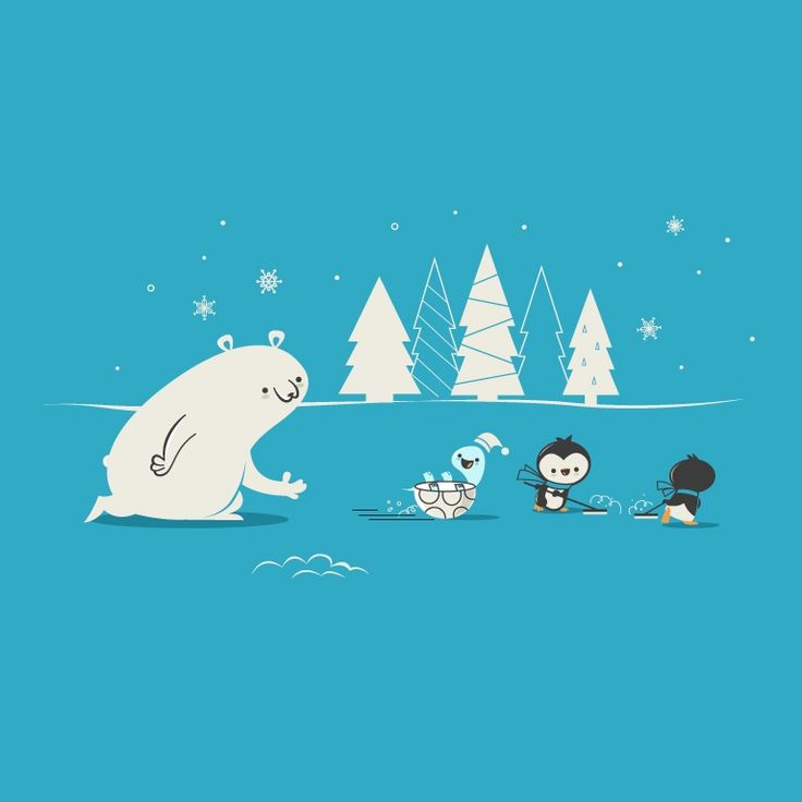 """Curling"" - Threadless.com - Best t-shirts in the world"