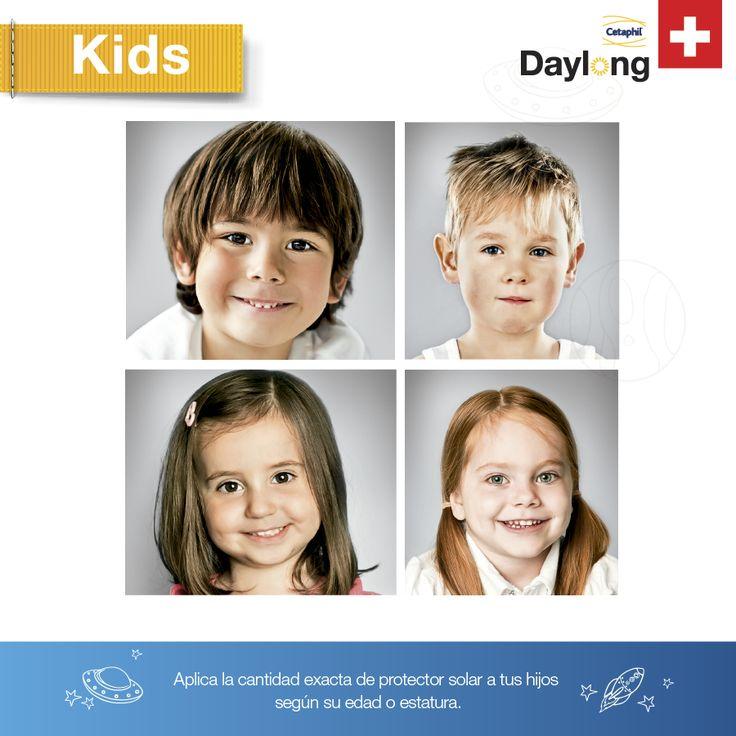 Es importante mencionar que, al igual que los adultos, los niños de piel muy blanca, rubios o pelirrojos, son mucho más sensibles a los rayos emitidos por el sol que los pequeños de piel trigueña o morena.#DaylongKids
